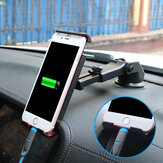 Bakeey™ Multifunctional Phone Stand Suction Cup Car Dashboard Car Phone Holder Bracket for Smartphone for iPad GPS
