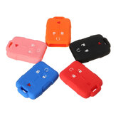 4 Button Silicone Remote Key Cover Holder For Chevrolet Silverado GMC Sierra UK