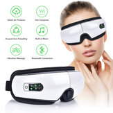 Original              Eye Massager Air Pressures Wrinkle Fatigue Relieve Eye Vibration Massage Hot Compress Therapy Glasses bluetooth Music Eye Relax