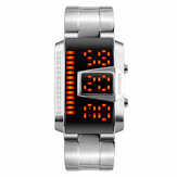 SKMEI 1179 Fashion Men Watch Waterproof Creative LED Digital Watch