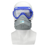 Full Face Respirator Gas Mask Goggles Anti- Dust Cover Safety Chemical Filter