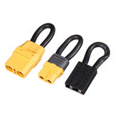 60mm 12AWG XT60/XT90 Plug Connector Jumper Shorting Plug Single Battery Loop Adapter for RC Battery