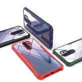 Bakeey Armor Four-Corner Bumper Transparent Acrylic Shockproof Non-Yellow Protective Case for Xiaomi Redmi 9 Non-original