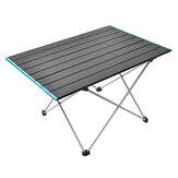Mesa dobrável em liga de alumínio para exterior portátil ultraleve para piquenique para acampamento Mesa com placa de alumínio para churrasco Móveis autônomos