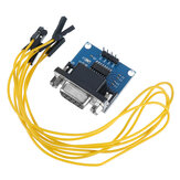 A14 RS232 to TTL Serial Port to TTL Converter Board Brush Module MAX3232 Chip