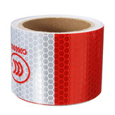 3M Rood Wit reflecterende tape Night Safety Warning Conspicuity Tape Film Sticker