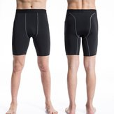 Pro Mens Traning Sport Quick Dry Running Tight Cycling Skin Compression Shorts