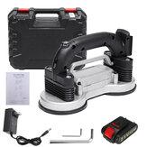 110-220V 21V 6 Speed Tile Tiling Machine Vibrator Suction LED Light 120x120cm Ceramic Floor