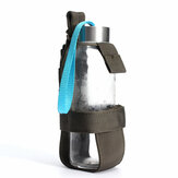 Outdoor Tactical Hiking Camping Molle Water Bottle Holder With Adjustable Vecro Strap Belt Bottle Cage Accessory