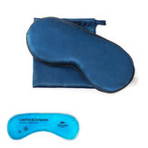 Naturehike NH17Y101-Z Pure Silk Travel Sleep Rest Eye Patch Shading Cover Comfort Blindfold Shield