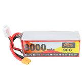 ZOP Power 11.1V 8000mAh 90C 3S Lipo Batterie XT60 Plug pour RC Racing Drone