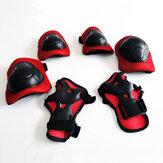 BIKIGHT6pcsConfortávelCiclismoPatinação Skate Cotovelo Joelho Almofadas De Pulso Crianças Esportes de Proteção Engrenagem