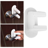Baby Safety Lock Door Lever Lock Safety Child Proof Doors 3M Adhesive Lever Handle