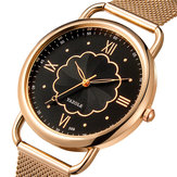 YAZOLE 399 Rose Gold Case Full Steel Women Kwarc Zegarek