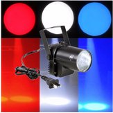 3W White Beam Lighting LED Spotlight Pinspot DJ Club Disco Bar Stage Effect Xmas