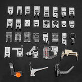 32pcs Home Sewing Machine Parts Presser Foot Feet Sew Accessories for Brother Janome Yokoyama Juki
