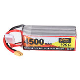ZOP Power 22.2V 4500mAh 100C 6S Lipo Battery XT60 Plug for RC Racing Drone
