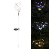 90/120/150 LED 2Modes Solar Garden Lights Solar Lights Solar Powered String Light with 2 Lighting Modes Twinkling and Steady-ON