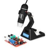 Kính hiển vi kính hiển vi liên tục S09 Digital 25X-600X 2.0MP với Giá đỡ phổ biến cao cấp