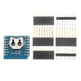 5 piezas Geekcreit® RTC DS1307 Real tiempo Reloj escudo para WeMos D1 Mini placa de desarrollo