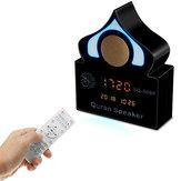 Sem fio Bluetooth Alcorão Altifalante Alarme Relógio Cor Variável Música Luz Speaker Com Microfone