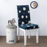 أنيقة زهرة المشهد مطاطا تمتد مقعد كرسي يغطي غرفة الطعام ديكور المنزل الزفاف