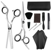 Ferramentas de cabeleireiro Barber Scissors Dental Scissors Flat Shears Household Set