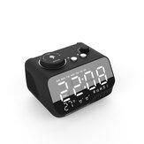 M9 Altoparlante stereo Bluetooth senza fili Subwoofer LED Doppia sveglia FM Radio Lettore MP3
