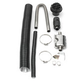 24mm Exhaust Silencer +25mm Filter+ Exhaust & Intake Pipe For Air Diesel Heater