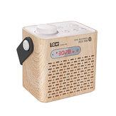 ĐỊAPHƯƠNGM80Loakhôngdâydi động Bluetooth Bàn đồng hồ LCD Hiển thị âm thanh Mini mp3 Radio Player