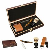 Shaver Kit Cut Throat Razor Rakebørste