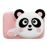 Criativo Panda Câmera Digital Dos Desenhos Animados Fotografia Bebê Treinamento Brinquedos Educativos com 16 / 32G TF Cartão para Presente Dos Miúdos