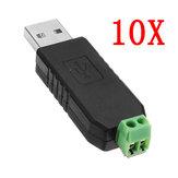 10 adet USB RS485 Dönüştürücü Modülü USB TTL / RS485 Çift Fonksiyonlu Çift Koruma