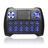 SUNGI T16 Blue Backlit Wireless 2.4Ghz Mini Keyboard Air Mouse Touchpad