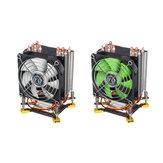 3 Pin 90cm 6 Heat Pipes Cooler Cooling Fan Heatsink for 115X 1366 Motherboard