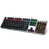 AULA F2088 104 Keys Mechanical Keyboard RGB Backlit Punk E-sports Gaming Keyboard Απορροφήσιμο στήριγμα χεριών