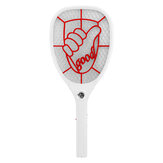 Bakeey Electric Mosquito Racket Batterie Portable Electric Mosquito Swatter Mini USB Charging Function Mosquito Killer
