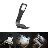 LUSTREON USB аккумуляторная сгиб Dimmable 4 LED Eye-Care Book Book Light Clip для Kindle IPad