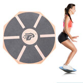 39.5CM Diameter 360° Rotation Wobble Balances Board Stability Disc Yoga Training Fitness Exercise Twists Boards