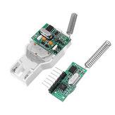 433MHZ/315 MHZ Zelfvoedende Launch Receiver Board Module Set Voor Draadloze Deurbel Wandschakelaar TX-ZD001 + RX-ZD001