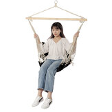 100*50cm 160kg Max Load Cotton Hammock Chair Simple Comfortable Hanging Seat Outdoor Garden Swing Max Load 160kg