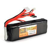 ZOP Power 11.1V 2500mAh 3S 8C Lipo-batterij voor RC-zender
