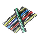 300Pcs 5 Colors 60 Each 5730 LED Diode Assortment SMD LED Diode Kit Green/RED/White/Blue/Yellow