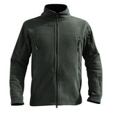 Mens Thick Warm Fleece Outdoor Tactical Soft Jacket