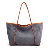Women Canvas Minimalist Pastel Tote Bag Handbag Leisure Travel Shoulder Bag Large Capacity Weekender