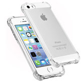 Air Bag Ultra Mince Transparent Antichoc Soft TPU Case pour iPhone 5 5S SE
