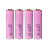 4Pcs INR18650-30Q 3000mAh 20A Discharge Current 18650 Power Battery Unprotected Button Top 18650 Battery For Flashlights E Cig Tools