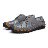 Mesh Breathable Stitching Outdoor Flats