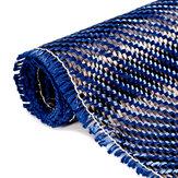 3 K 200gsm Azul Fibra De Carbono Pano De Configuração De Tecido Industrial De Material De Fibra De Carbono Board 36x12 Polegada