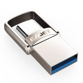 EAGET CU20 USB3.0 Type-C Pendrive USB OTG Type C 16GB 32GB 64GB Métal USB Flash Lecteur Dual Plug